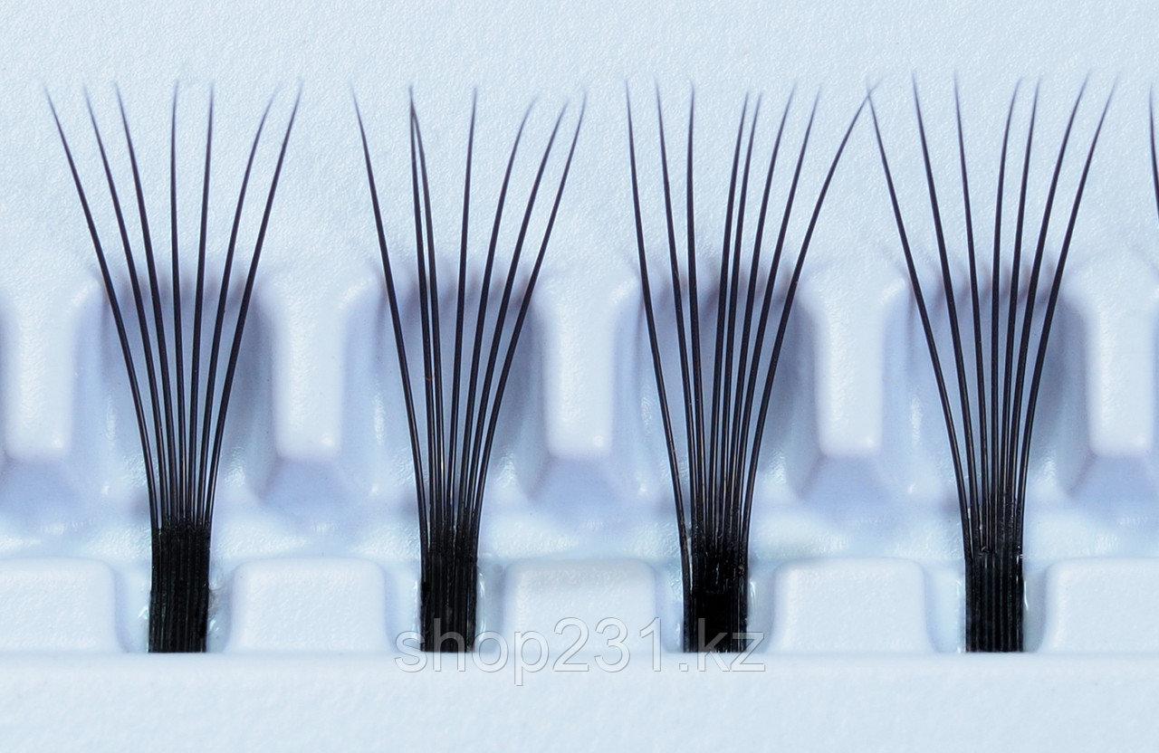 Пучковые ресницы (без узелковые).8мм