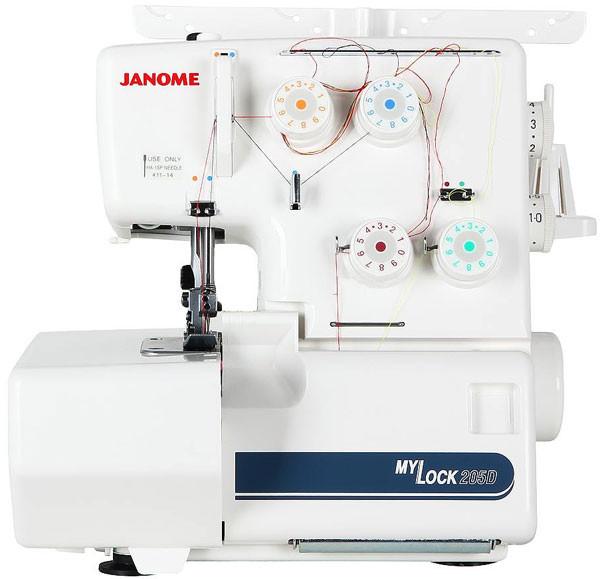 Швейная машинка - Оверлок Janome ML-205D