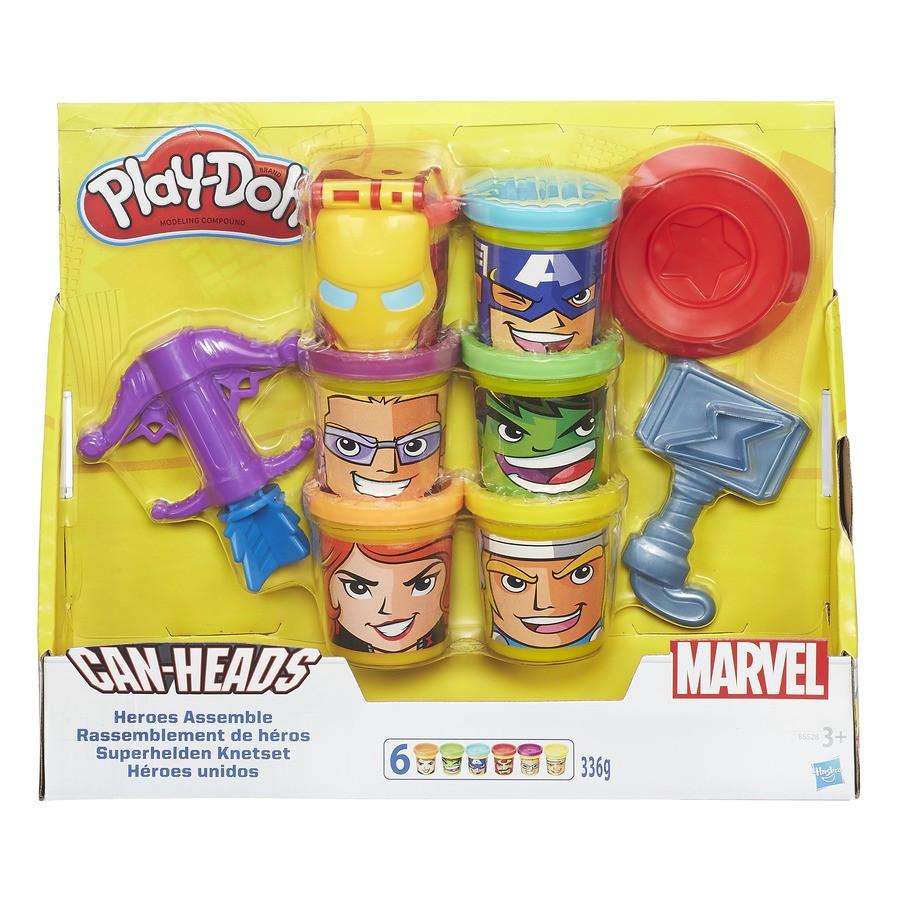 "Hasbro Play-Doh Набор ""Мстители, общий сбор"""