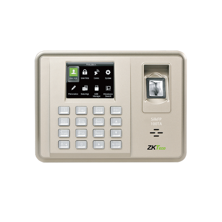 Биометрический терминал ZK SilkFP-100TA/ID
