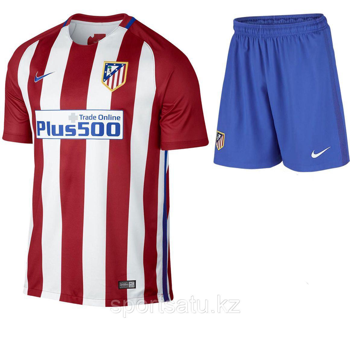 Футбольная форма Атлетико Мадрид 2016-17 домашняя