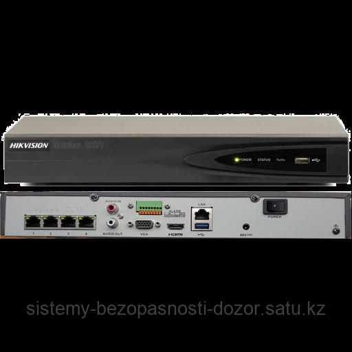 4-канальный сетевой видеорегистратор Hikvision DS-7604NI-E1