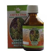 Масло боровой матки (трава), с экстрактами корней красной щетки и травы грушанки, 50 мл