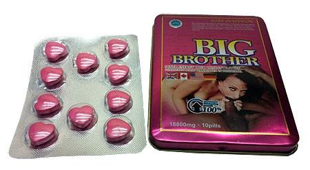Big Brother (Большой Брат) для улучшения потенции 10 таб.