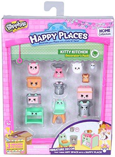 "Shopkins, Шопкинс ""Happy Places"" - Кухня Китти (Декоративный набор)"