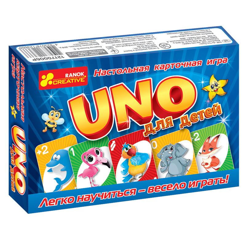 Ranok 12170006Р Настольная игра UNO для детей