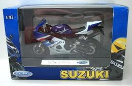 1/18 Welly Suzuki GSX-R750