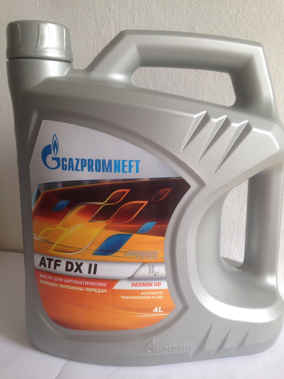 Газпром Dexron-II (декстрон-2) 4л.