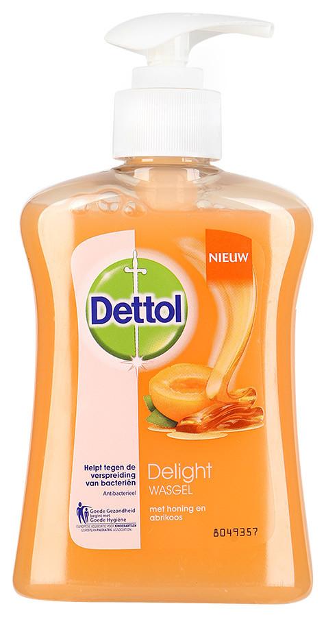 Dettol жидкое мыло Наслаждение 250мл