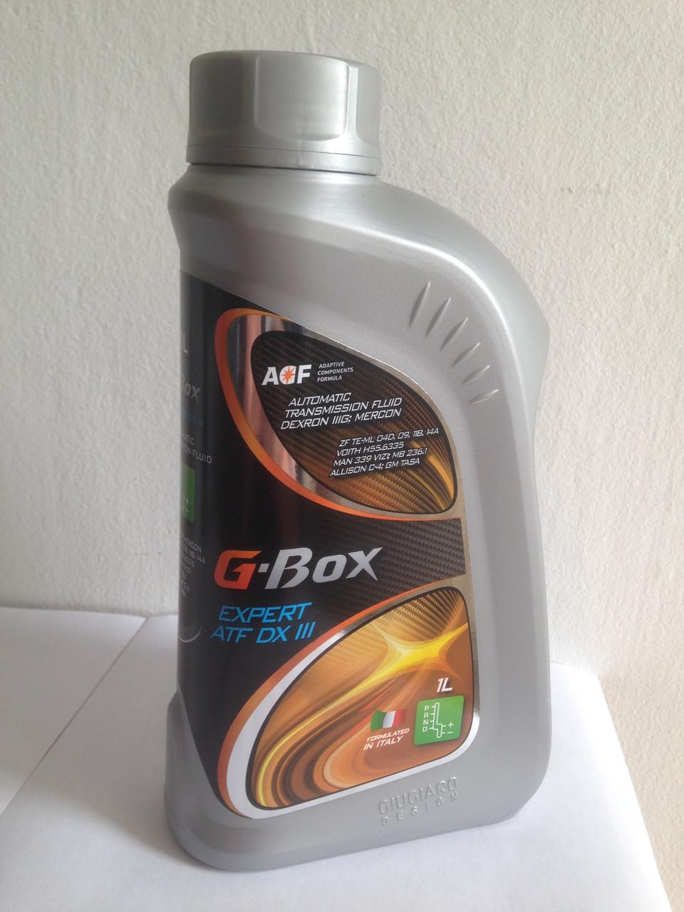 Масло для АКПП G-Energy Expert ATF-3 (декстрон-3) 1л