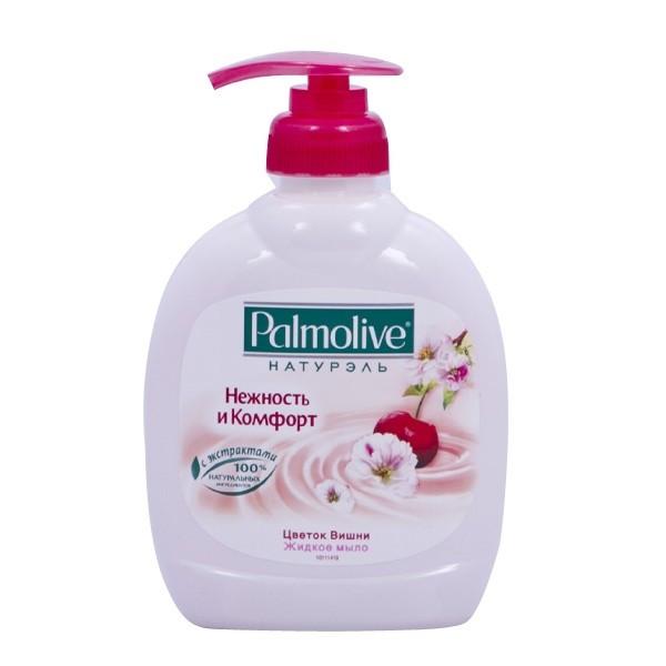 Palmolive Натурэль жидкое мыло  Цветок Вишни 300мл