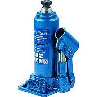 Домкрат гидравлический бутылочный, 6 т, h подъема 216–413 мм// STELS