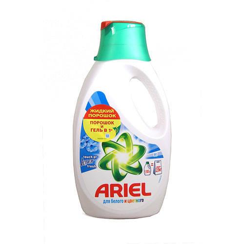 Ariel СМС жидкий Touch Оf Lenor Fresh 1.3л