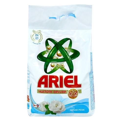 Ariel чистота DELUXE Белая Роза 3 кг