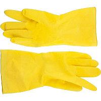 DEXX перчатки латексные хозяйственно-бытовые, размер L.