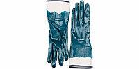 Перчатки ЗУБР рабочие с полным нитриловым покрытием, размер M (8)