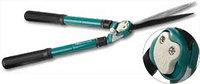 Кусторез RACO с телескопическими ручками и волнообразными лезвиями, 630-840мм
