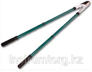 Сучкорез RACO с телескоп. ручками, 2-рычажный, с упорной пластиной, рез до 32мм, 630-950мм