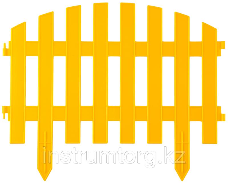 """Забор декоративный GRINDA """"АР ДЕКО"""", 28x300 см, зеленый"""