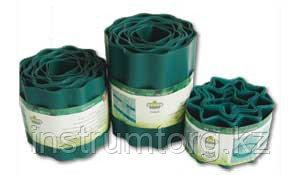 Лента бордюрная RACO, цвет зеленый, 20см х 9 м