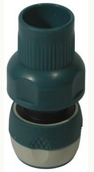 """RACO COMFORT-PLUS 3/4"""", с автостопом, соединитель быстросъёмный с защитой от перегиба шланга ,из ABS-пластика"""