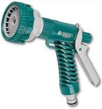 RACO 520C 5 режимов, курок сзади, пистолет поливочный пластиковый
