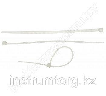 Кабельные стяжки белые КС-Б2, 2.5 х 150 мм, 50 шт, нейлоновые, ЗУБР Профессионал