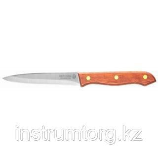 """Нож LEGIONER """"GERMANICA"""" обвалочный, с деревянной ручкой, нерж лезвие 150мм"""