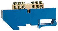 Шина СВЕТОЗАР нулевая на DIN-изоляторе, макс. ток 100А, 5,2мм, 10 полюсов