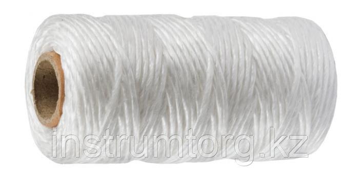 Шпагат ЗУБР многоцелевой полипропиленовый, белый, d=1,8 мм, 110 м, 50 кгс, 1,2 ктекс