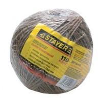 Шпагат STAYER хозяйственно-бытовой, льнопеньковый, d=1,4 мм, 110 м, 13,5 кгс, 1,25 ктекс
