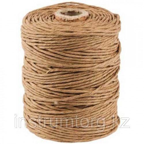 Шпагат STAYER упаковочный, бумажный, коричневый, 60м