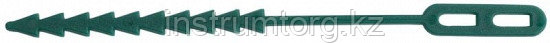Крепление GRINDA для подвязки растений, регулируемое, тип - пластиковый хомут с фиксатором, 175мм, 25шт