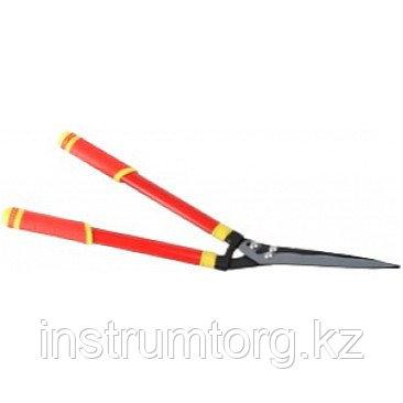 Кусторез, стальные телескопические ручки, профильные лезвия с тефлоновым покрытием, 665-825мм