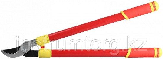 Сучкорез GRINDA с тефлоновым покрытием, стальные телескопические ручки, 700мм