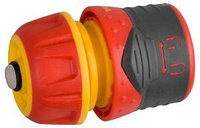 """GRINDA PREMIUM 1/2"""", с автостопом, соединитель быстросъёмный для шланга, из ударопрочного пластика с TPR, с"""
