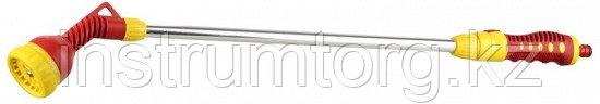 GRINDA 730 мм, 7 режимов, наконечник поливочный на алюминиевом удлинителе