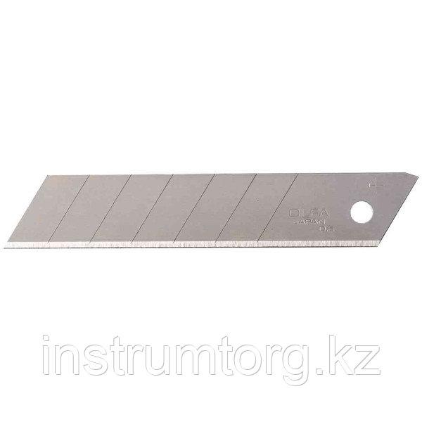 Лезвие OLFA сегментированное, 8 сегментов, 18х100х0,5мм, 50шт