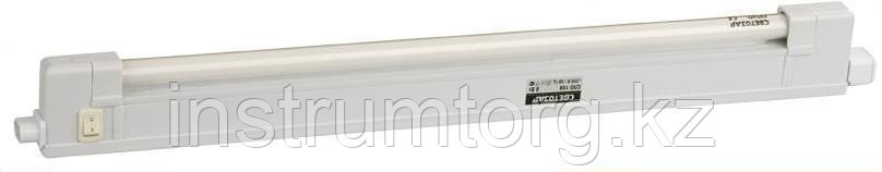 """Светильник люминесцентный СВЕТОЗАР модель """"СЛО-120"""" с выключателем, лампа Т4, 600x22x44мм, 20Вт"""