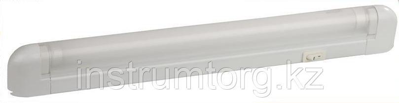 """Светильник люминесцентный СВЕТОЗАР модель """"СЛ-216"""" с плафоном и выключателем, лампа Т5, 658x22x43мм, 16Вт"""