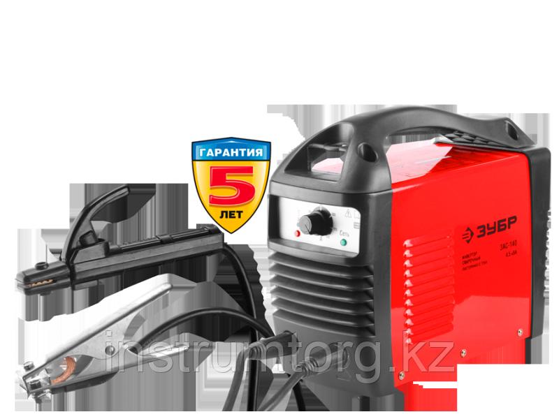 Инвертор ЗУБР сварочный, электр. 1,6-3,2 мм, А20-140, 1*220В