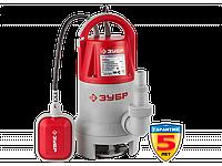 Насос ЗУБР погружной для грязной воды, пропускная способность 250 л/мин, 900Вт