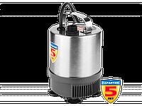 Насос фонтанный, ЗУБР ЗНФЧ-23-1.9-C, нерж сталь, для чистой воды, напор 1,9 м, насадки: колокольчик, гейзер,