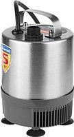 Насос фонтанный, ЗУБР ЗНФЧ-29-2.3-C, нерж сталь, для чистой воды, напор 2,3 м, насадки: колокольчик, гейзер,