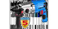 Перфоратор SDS-plus, ЗУБР Профессионал ЗП-28-800 К, реверс, горизонтальный, металл редуктор, 3.2Дж, 0-1200
