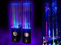 """Колонки """"Dancing Water Speakers 6W RMS(3Wx2),USB  M:301(стильные колонки с фонтанчиками и светомузыкой)"""""""