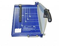 Резак для бумаги 928-3 А4 синий шторка-фиксатор пластик , фото 1