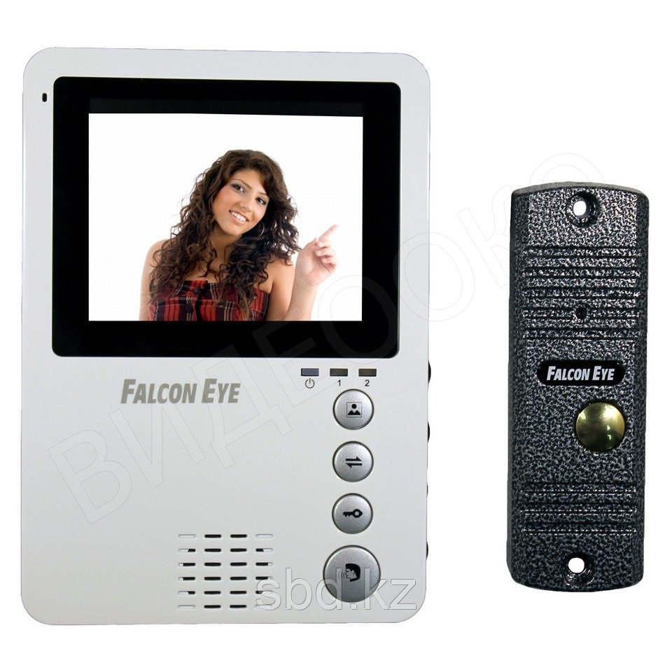 Видеодомофон и вызывная панель FE-KIT Дом Falcon Eye