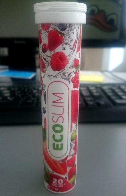 Шипучие таблетки для похудения Эко Слим (Eco Slim) - фото 4