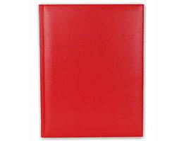 Датированный ежедневник А4 красный